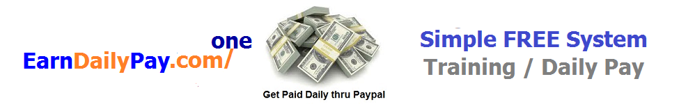 earndailypayone banner 975 X 150 Blue and orange