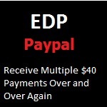 EDP Paypal Red 150 X 150 - $40